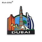 Wholesale Soft Rubber PVC Country Fridge Magnet For Dubai