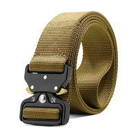 Premium China supplier OEM heavy duty quick release military style webbing riggers web tactical belt
