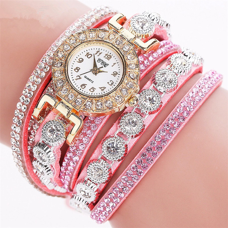 China <strong>Watch</strong> Factory 3 Circles Wrap Bracelet <strong>Wrist</strong> <strong>Watch</strong> <strong>Women</strong> Fancy Hand <strong>Watch</strong> <strong>for</strong> Girls