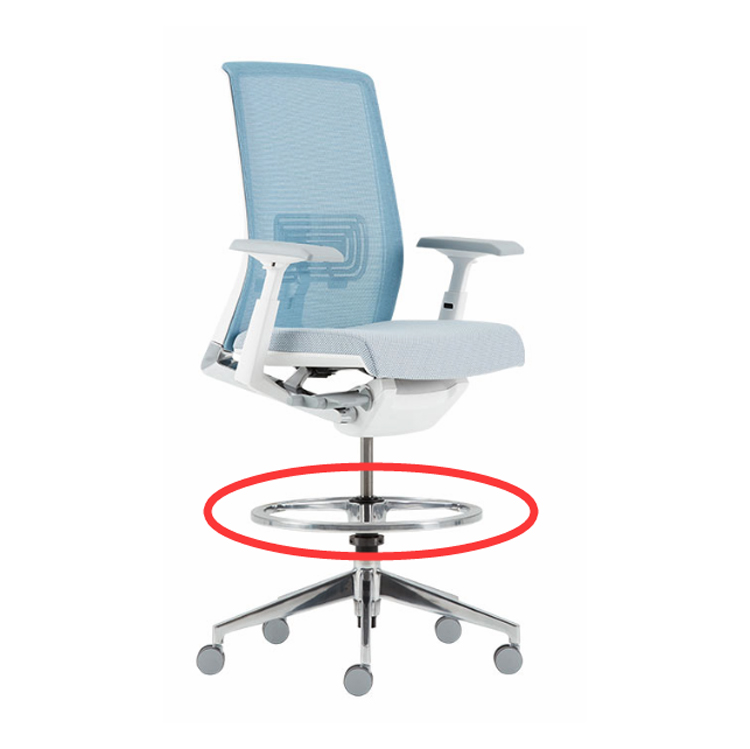 Taiwan High quality modern adjustable Office chair foot ring