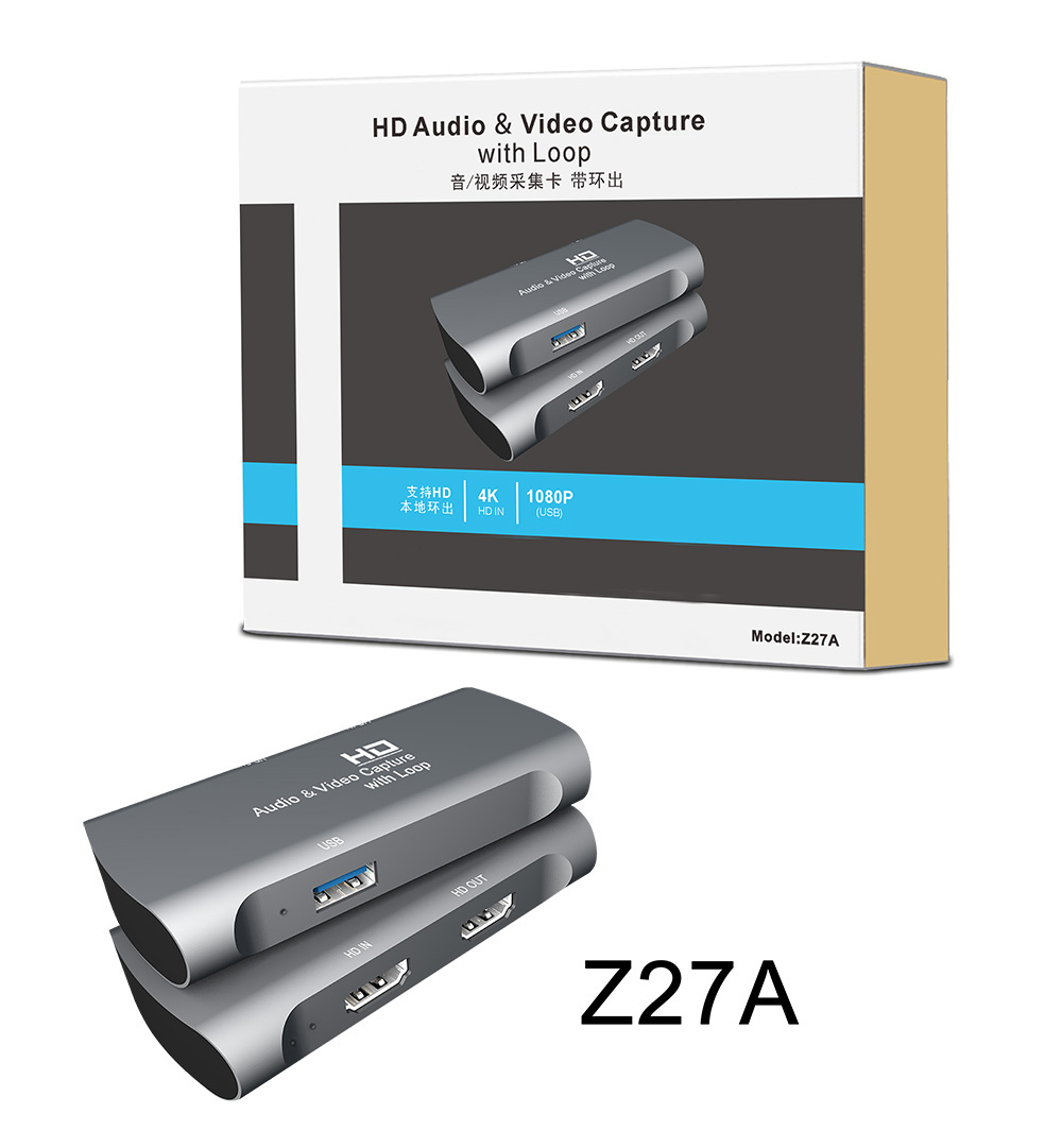 HD MI ad alta definizione 1080p 60fps video capture usb 2.0 scheda di acquisizione video audio di registrazione video
