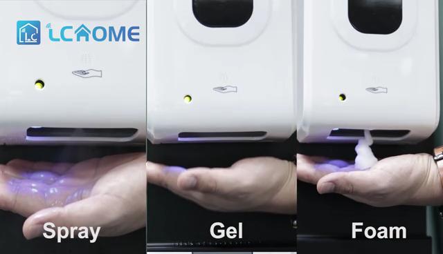 1200ml Sensor automático dispensador desinfectante dispensador