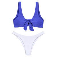 High Quality sexy girl bikini swimwear Two Piece Bikini OEM Swimwear with Chinlon material