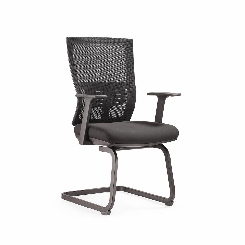 Top quality good selling mib back black mesh ergonomic conference chair