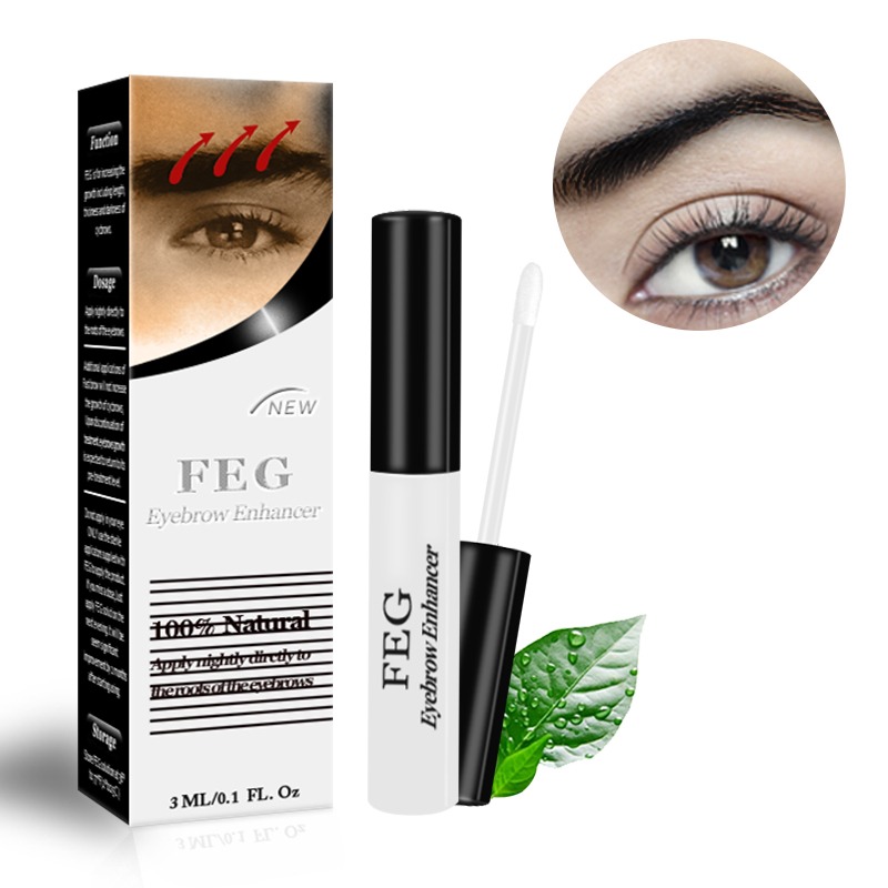 feg individual eyelash and eyebrow enhancer extensions private label