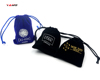 Custom velvet small jewelry bags with your own logo for jewelry/velvet drawstring pouch
