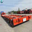 Heavy duty 5 lines10axles axle Lowbed Lowboy Semi Trailer Hydraulic 200-ton mechanical equipment lowbed trailer