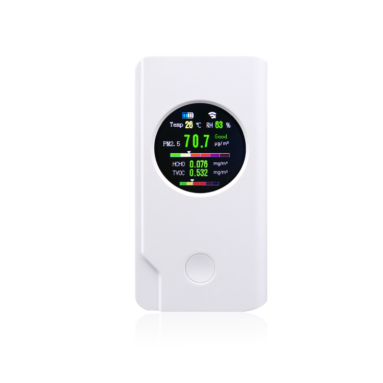 GNGS fabrik China portable smart air qualität meter WIFI formaldehyd TVOC detektor