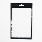 High-grade black transparent pearly lustre mobile phone case bag phone cover packaging bags