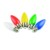 China's supply Best Selling decoration bulb Holiday lights E27 B22 led colour bulb
