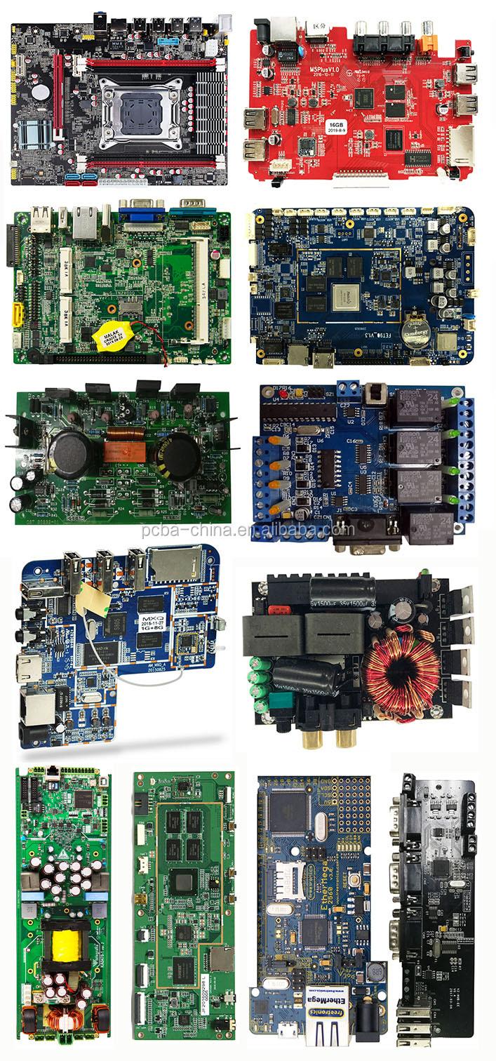 전자 서비스 pcba ru 94v0 rohs 인쇄 회로판 제조자 pcb