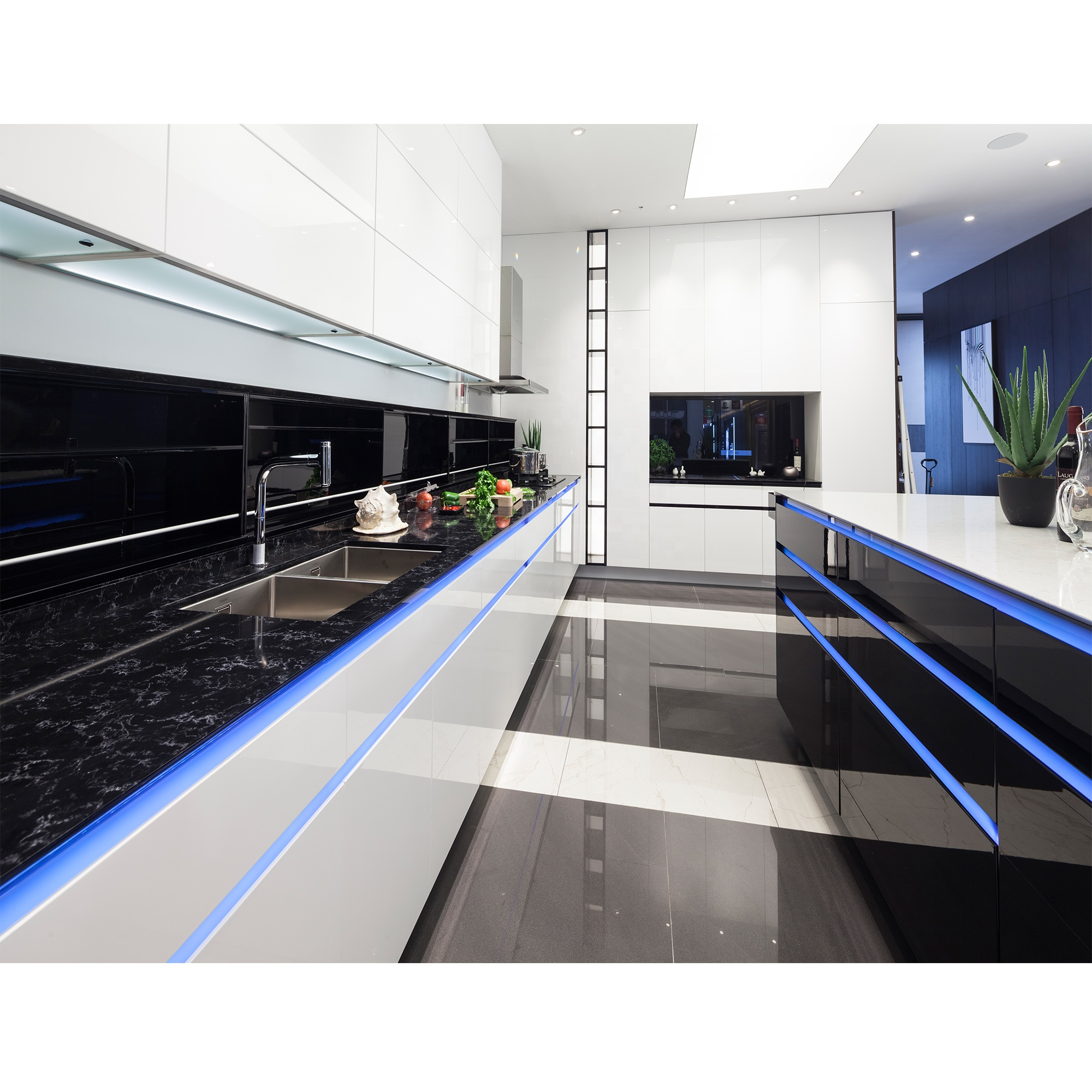 Nicocabinet Italian Design Modern Style Led Light White High Gloss 2 Pac Kitchen Cabinet Modular Kitchen Cupboards Design Buy French Kitchen Import Kitchen Cabinet Fitted Kitchens China Kitchens Flat Pack Cabinet