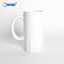 Moed 24Pcs/Ctn Blank Coated <span class=keywords><strong>Sublimatie</strong></span> Keramische Beer Stein Mok