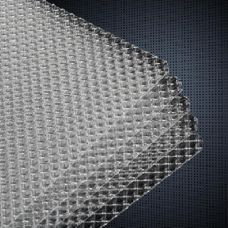 Geniuslux DLBS-FXZ factory directly polystyrene anti-glare diffuser reflection lgp sheet for led straight down panel light