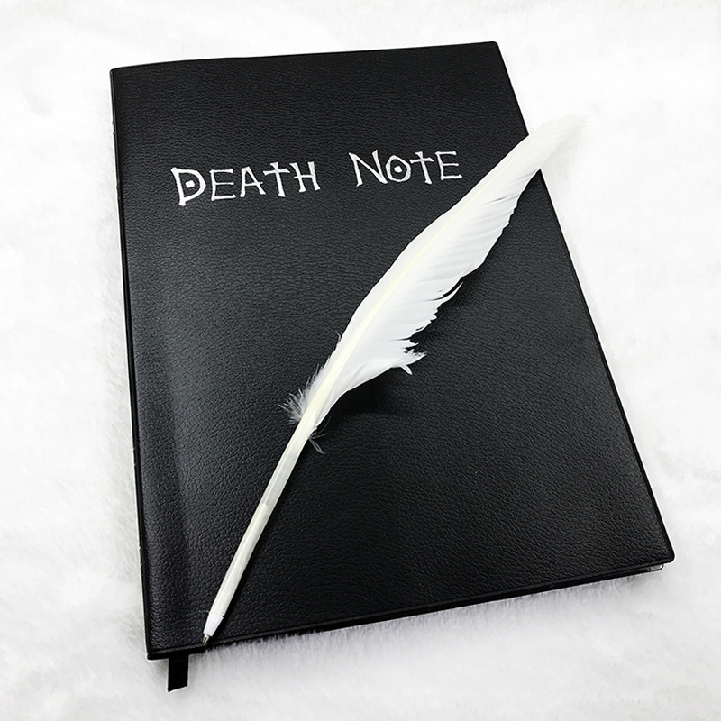 """Блокнот с надписью """"Death Note"""", винтажный блокнот с пулей, ежедневник, 2020 год, блокнот для зарисовок, ручки для школы, Papeleria Libretas, милые блокноты, п...(Китай)"""