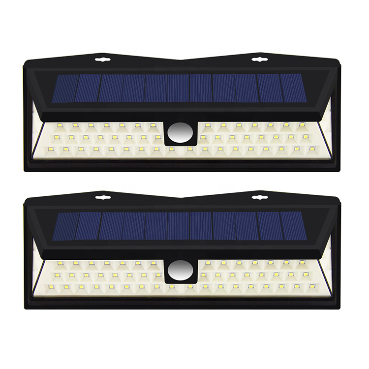 3 lighting modes wireless home led solar lights PIR motion sensor Outdoor Solar Security Wall Light for pathway, front door