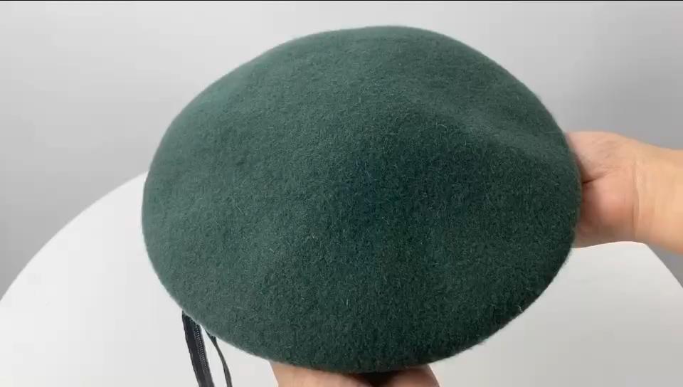 Deekon グループベレー工場カスタマイズされたベレー帽