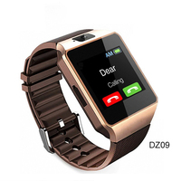 China Bluetooth Smartwatch Factory Selling Wifi Waterproof DZ09 Smart Watch For Android IOS Phone