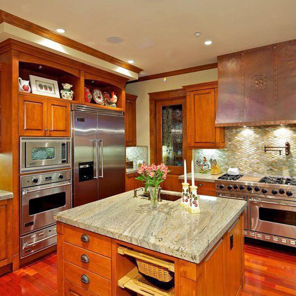 Adornus Old Style Plywood Pine Kitchen Cabinet Color ...