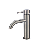 New Watermark Stainless Steel 304 Hot Cold Bathroom Basin Mixer Faucet