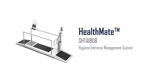 Hospital Facilities using for Hygiene Entrance Management System SHTA1808