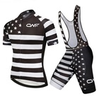 American Team Sports Cycling Jersey Set Suit Mountain Bike Cycling Wear for Men
