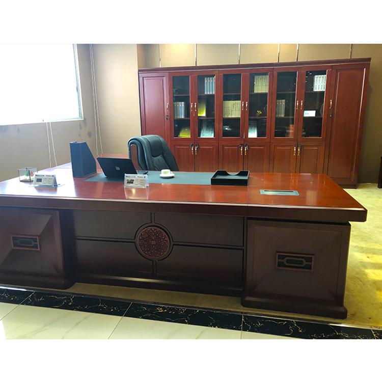 Exeutive Office Desk Yellow Cherry