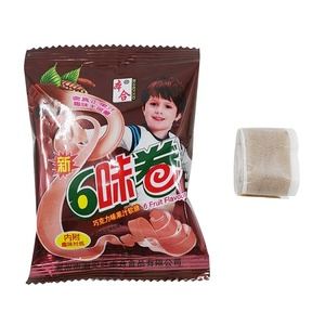 Sweet confectionery products gummy chewing candy with vitamin