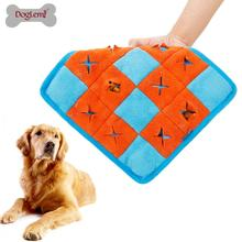 Squeaky <span class=keywords><strong>Peluche</strong></span> <span class=keywords><strong>Cane</strong></span> <span class=keywords><strong>Giocattolo</strong></span> Interattivo Puppy Pet Snuffle Mat Cuscino IQ Giocattoli Di Puzzle