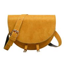 Винтажная бархатная поясная сумка для женщин полукруглая модная поясная сумка с откидной крышкой для телефона, сумка на плечо, Женская Повс...(Китай)