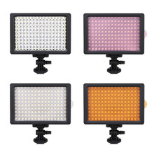 160 Video LED Light Dimbare Vullen Lichten voor Fotograaf Youtuber Lage <span class=keywords><strong>Energie</strong></span>