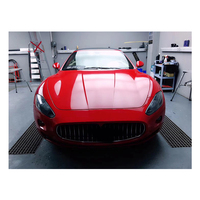 Glossy Crystal Red Car Full Body Sticker Vinyl