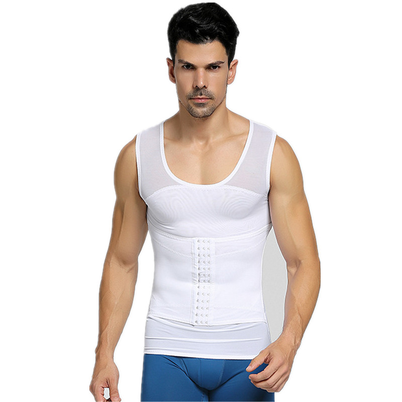 Khaya Men's Compression Breathable Running Fitness One-piece adjustable belly band adjustable vest