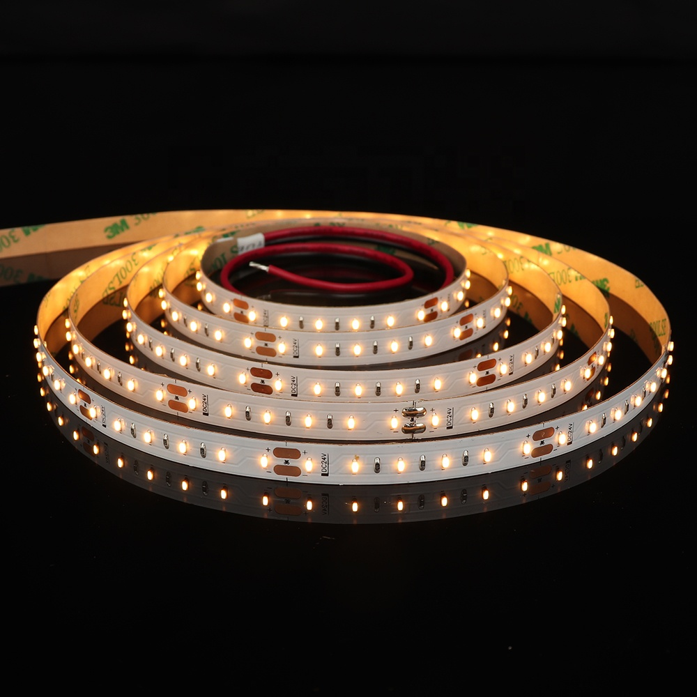 Shenzhen factory direct sell top-rated 1808smd 120LEDs per meter high cri 95 flexible LED Strip Light for lighting project