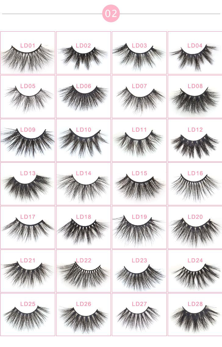 सुपर गुणवत्ता थोक निजी लेबल 100% असली के लिए 25mm 3d मिंक eyelashes सौंदर्य