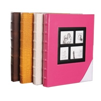 Extra Large Capacity Leather Cover Wedding Family Photo Albums Holds 500 4x6 Photos