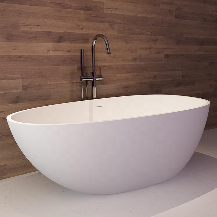 8802-14 حوض استحمام رخيص فندق أبيض زاوية قائمة بذاتها الاكريليك حوض استحمام ذو سطح صلب