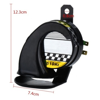 Horn Speakers Waterproof Outdoor 12V Universal Car Motorcycle Truck Boat 130DB Electric Loud Snail Air Siren Horn For Sale