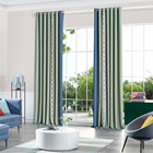 New Design Luxury Grommet Blackout Soundproof Curtains for Windows