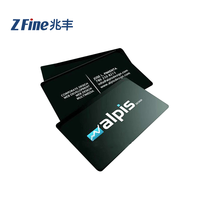 High Quality Plastic Printable Cheap OEM Customized Design Black HiCo 30 mil CR80 Graphic Quality print card pvc