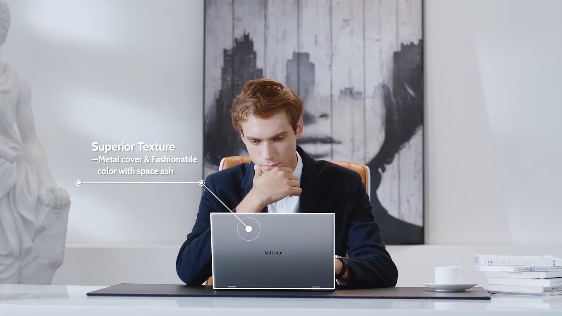 XIDU 13.3 인치 인텔 코어 I5 8GB RAM 128GB SSD 터치 스크린 360 학위 플립 백라이트 키보드 노트북