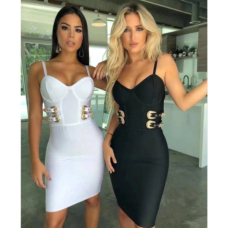 2019 womans' <strong>dresses</strong> Hot Sales Sexy V Neck Bodycon sexy Bandage <strong>Dresses</strong> with buckle