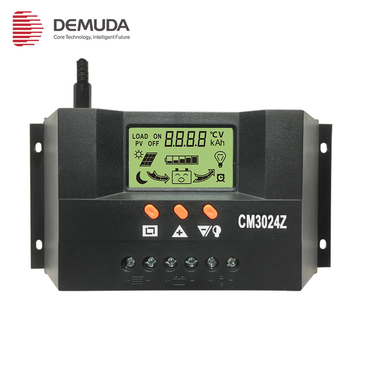 Wholesale high quality  30A 40A 50A 60A solar charge controller cm3024z