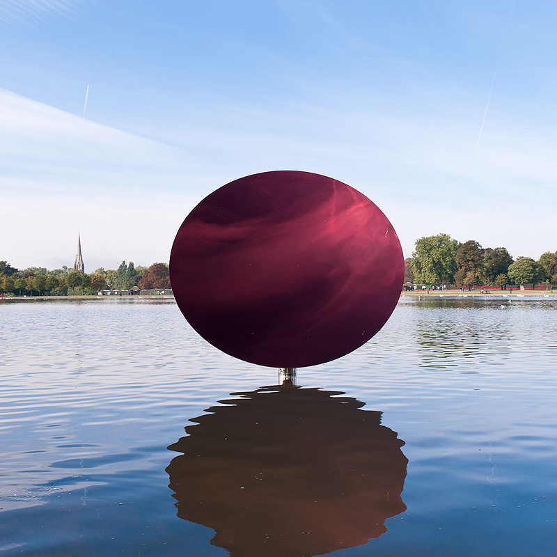 Stainless Steel Home Decor Modern Wall Art Sky Mirror Polished Sculpture By Anish Kapoor