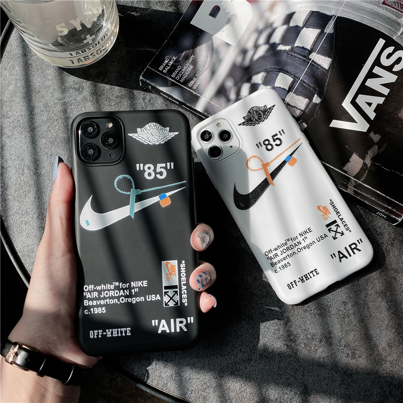 Street Brand Fashion Black TPU Soft Phone Case for iPhone 11 12 Pro <strong>Max</strong> XR X XS <strong>Max</strong> 7 8 Plus Cover for iPhone Silicone Covers