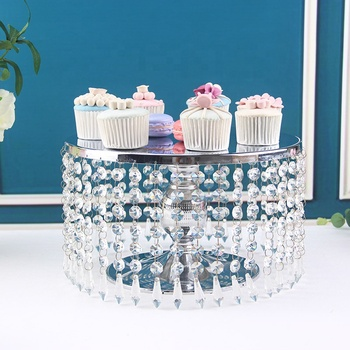 Wholesale Decorative Cake Cookie Candy Dessert Table Party Cupcake Display Tray Crystal Cake Stand Set For Wedding Christmas Day Buy Cake Cookie Candy Hanging Crystals Cake Stand Three Tier Cake Stand Cupcake