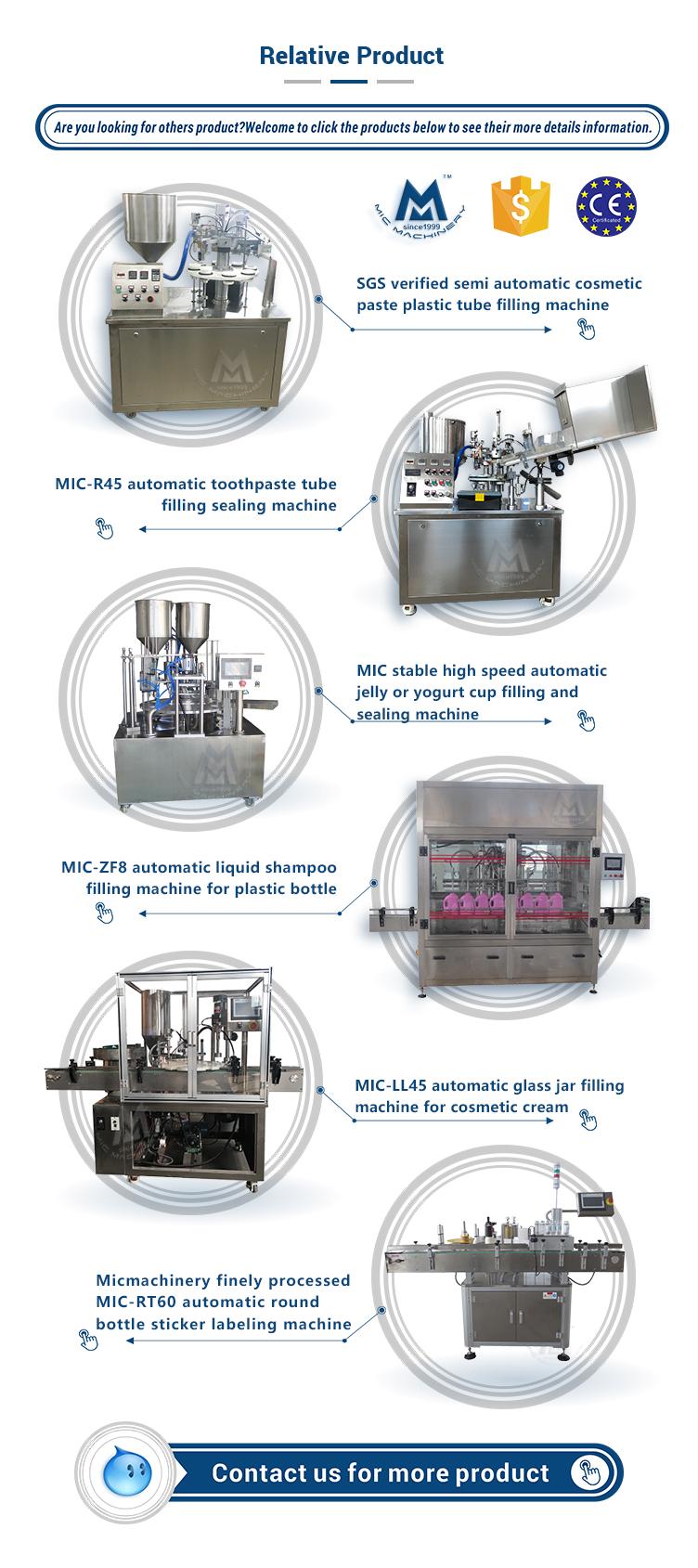 Mic 100L Advance equipment industrial fruit jam and mayonnaise homogenizing emulsifying making machine