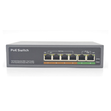 Groothandel smart VLAN 48V fast <span class=keywords><strong>Ethernet</strong></span> 4 poorten PoE switch voor IP CCTV
