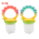 Safety Silicone Infant Nipple Baby Food Chew Pacifier Soothers Silica Gel Fruits Vegetables Toothbrush Nipple Feeding Pacifier