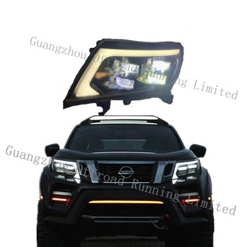 car headlights for navara np300 d23 headlight led head lamp 4x4